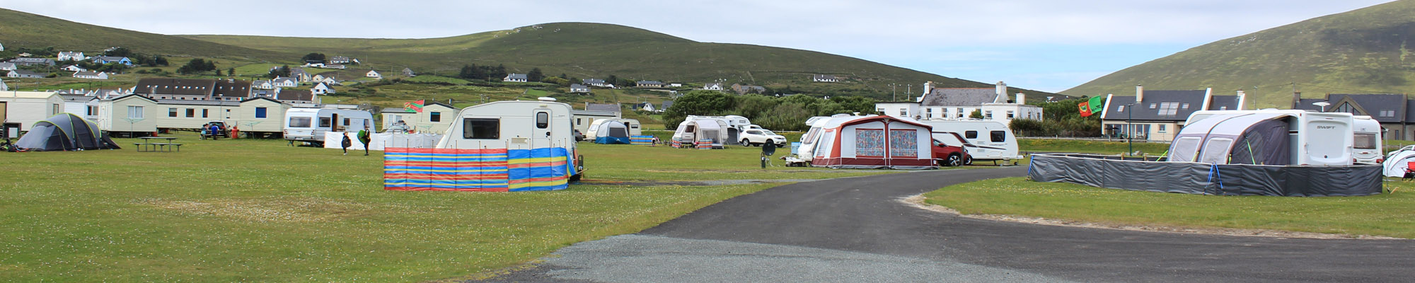 Keel Sandybanks Camping & Caravan Park | Mobile Homes